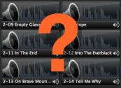 audio clips in media bin
