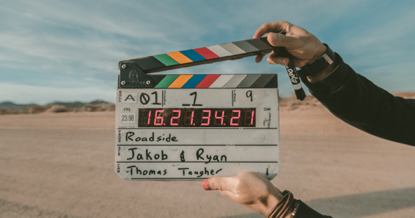 Clapperboard is used to sync media