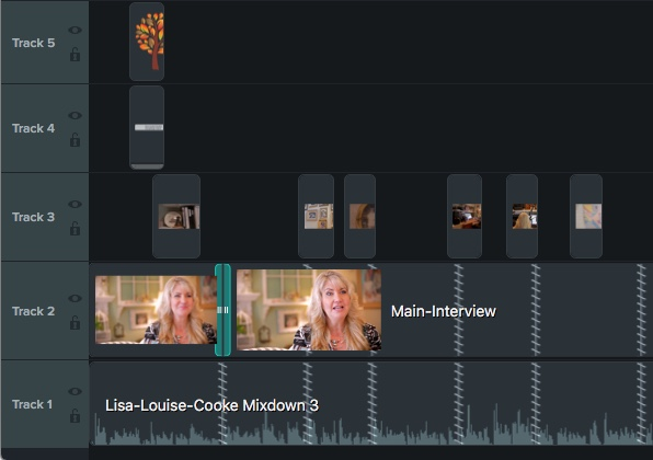 Add additional footage to your video timeline for editing