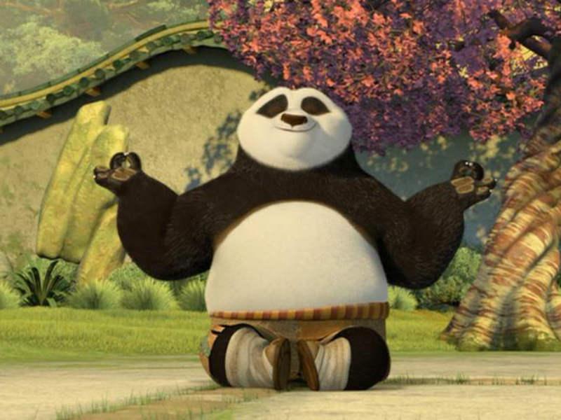 Innerpeace Kung Fu Panda Wallpaper