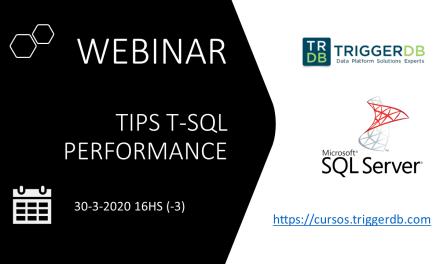 Webinar gratuito T-SQL Tips performance