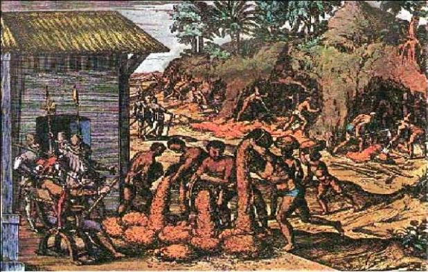 Resultado de imagen para minas en africa