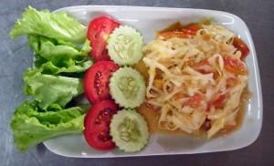 Laos Green Papaya Salad