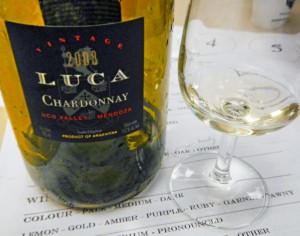 he Luca Chardonnay is from the famous wine region of Mendoza in Argentina.