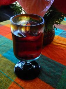 Jamaica 'iced tea'