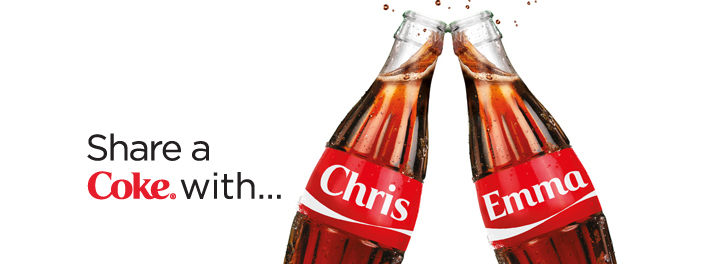 Image result for share a coke campaign