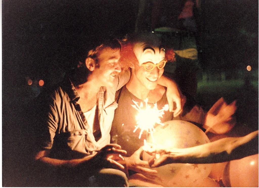 Pochinko and Wallace in NYC. Photo courtesy of Ian Wallace