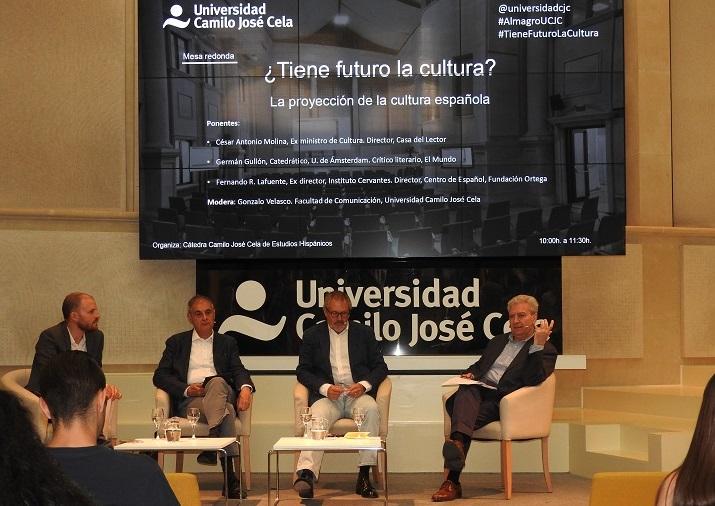 Protagonistas de primer nivel para debatir sobre la cultura en la UCJC