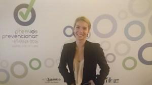 """Alumna UCJC en Premios """"Prevencionar"""""""