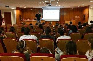 Conferencia de Álvaro Merino en la UCJC