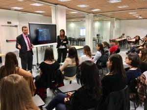 Los alumnos visitaron el campus UCJC de Almagro