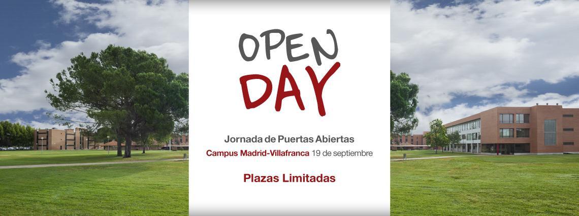 Jornada de puertas abiertas Universidad Camilo José Cela UCJC