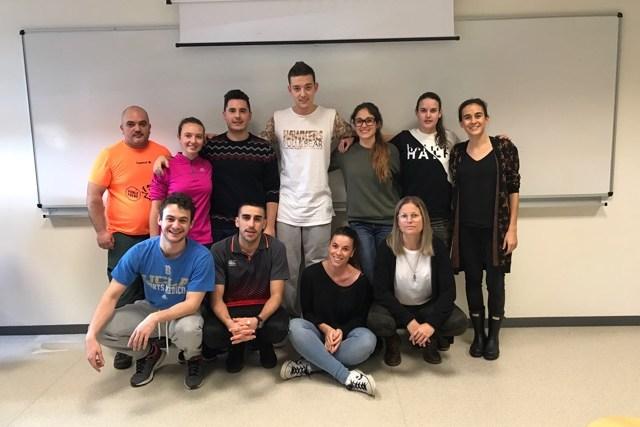 estudiantes de la UCJC Osteopatía