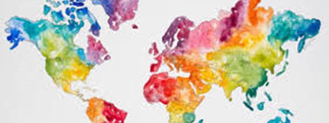 mapa mundi Fisioterapia