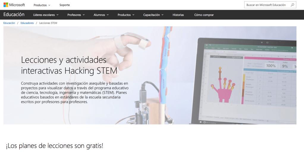 Entrada Lecciones Hacking STEM