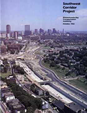 Southwest Corridor Project. Massachusetts Bay Transportation Authority, October 1982