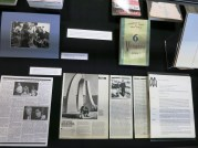 This exhibition features archival materials such as newsletters, photographs, flyers, and more, that document the early years of the Writers' Workshop, as well as more recent activities of the Workshop. In addition, the exhibition documents a major initiative of the Joiner Institute since the late 1980s: the translation of Vietnamese literature, fiction, and poetry, into English. Included in this display is information about Vietnamese author Le Luu, a former soldier in the North Vietnamese army and the first Vietnamese writer to visit the United States since the war ended in 1975. Luu was a guest of the Writers' Workshop in 1988.