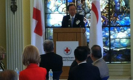 Ban Ki-moon at Red Cross Operation VISTA 50-year reunion