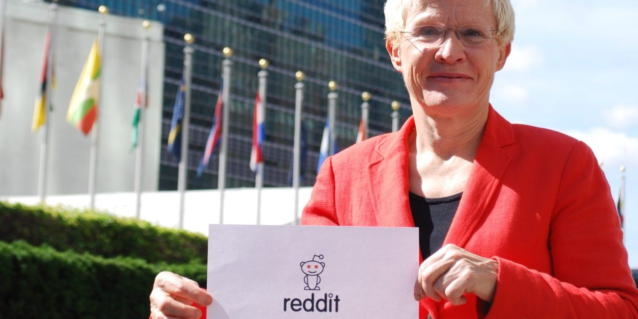 Ask #UN70 questions on Reddit