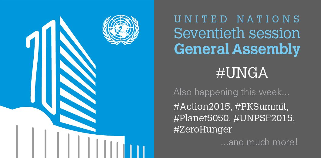 8 ways to follow the #UNGA online