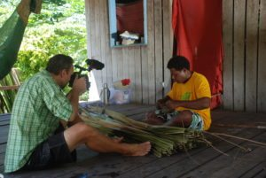 UNTV Filming in Zaira Solomon Islands