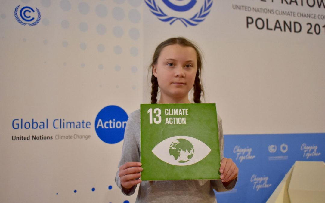 Food Focus and Striking for Climate Action