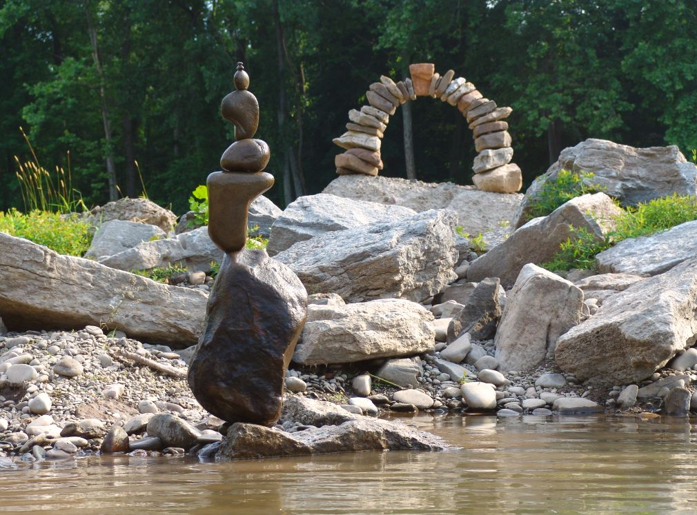 DIY Rock Stacks Cairns The Art Of Nature