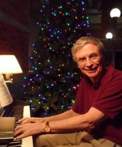 Photo- David Herrick at the Piano