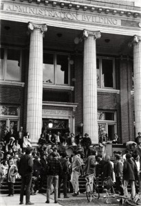 Johnson_Hall_protest