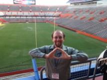 "Nick ""Throwing an O"" at The Swamp at the 2014 NAPC meeting"