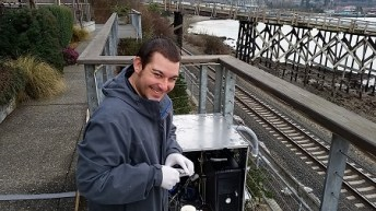 Francisco Gabela, Apollo train study team member, Bellingham WA, 2015