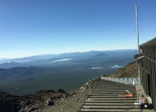 View from the top of Mt. Bachelor Observatory