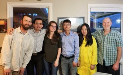 Pao Baylon's dissertation celebration, May 2017