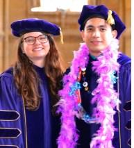 Crystal McClure & Pao Baylon at Graduation, 2018