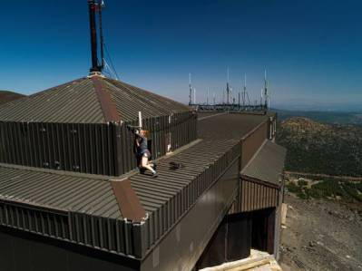 Claire Buysse working on top of MBO, July 2019