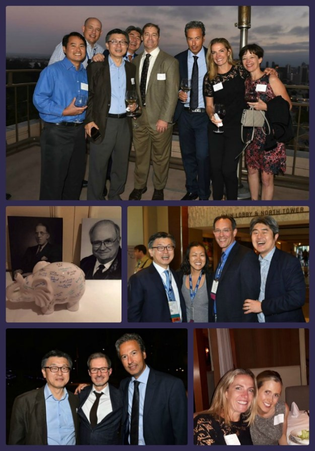 collage of images from the Schluger Dinner at the 2016 AAP annual meeting