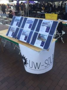UW Solar table @ Red Square