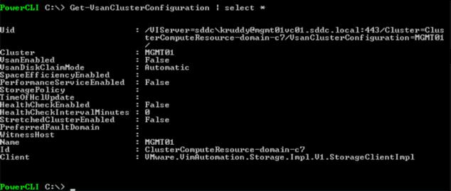 VSAN Cluster Configuration