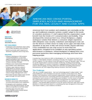 red cross digital workspace vmware case study