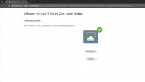Cloud Connector Setup