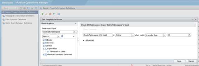 Learn how to create a custom alert in vRealize Operations