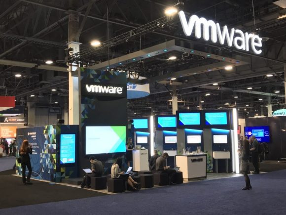 VMware Booth at AWS re:Invent