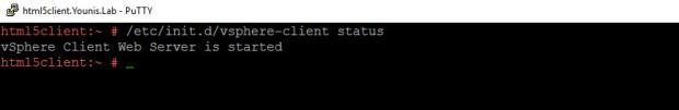 vSphere HTML5 Web Client Troublshooting Fig 1