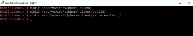 vSphere HTML5 Web Client Windows Fig 3
