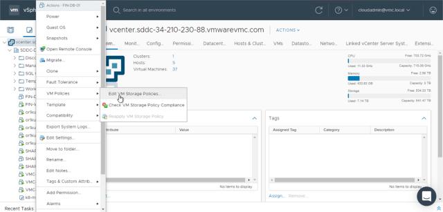 VMware Cloud on AWS Policies 12