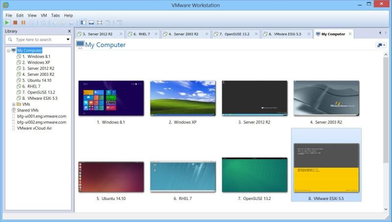 Risultati immagini per vmware workstation