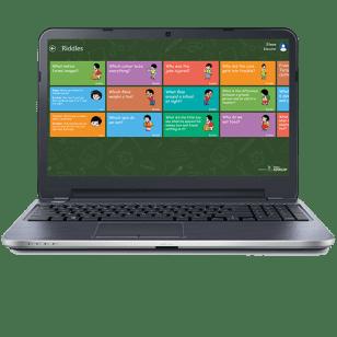 A screenshot of Mobiliya Edvelop's Virtual Bag feature. (Mobiliya Technologies)