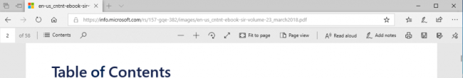 Showing the PDF toolbar described above.