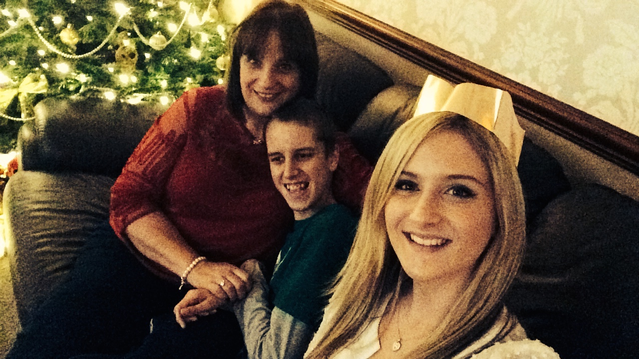 My mum, brother and I at Christmas xx