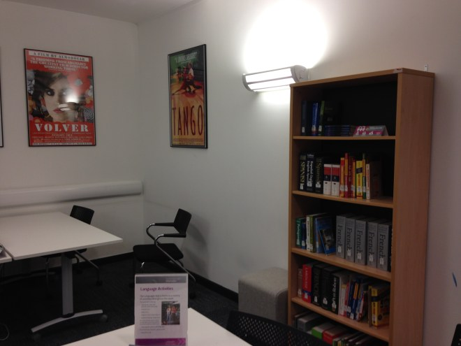 There's more! - The Languages Hub is a dedicated space for language learning that you can find in the Harry Fairhurst building of the library.